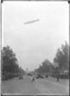The Graf Zeppelin over U.S. Capitol.