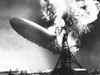 Explosion of the Hindenburg.