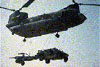 The CH-47 Chinook helicopter