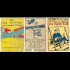 Covers of early children's aviation books