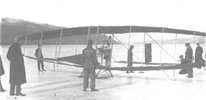 The first powered aircraft built by the AEA.