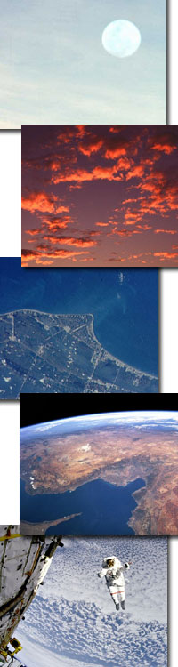 earth image collage